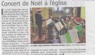 La Fanfare royale Saint-Henri d'Ermeton-sur-Biert a donné un concert de Noël à Villers-le-Gambon