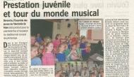 Article du journal L'Avenir du 15/04/2016