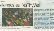 Article du journal L'Avenir du 14/05/2016